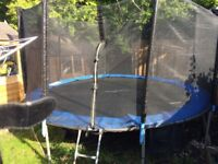 12ft Trampoline with Safety Net & Ladder