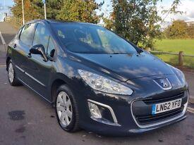 SOLD Peugeot 308 1.6 e-HDi SR 5dr 112 BHP £20 Road Tax 12M MOT Recent Service Facelift Model SatNav
