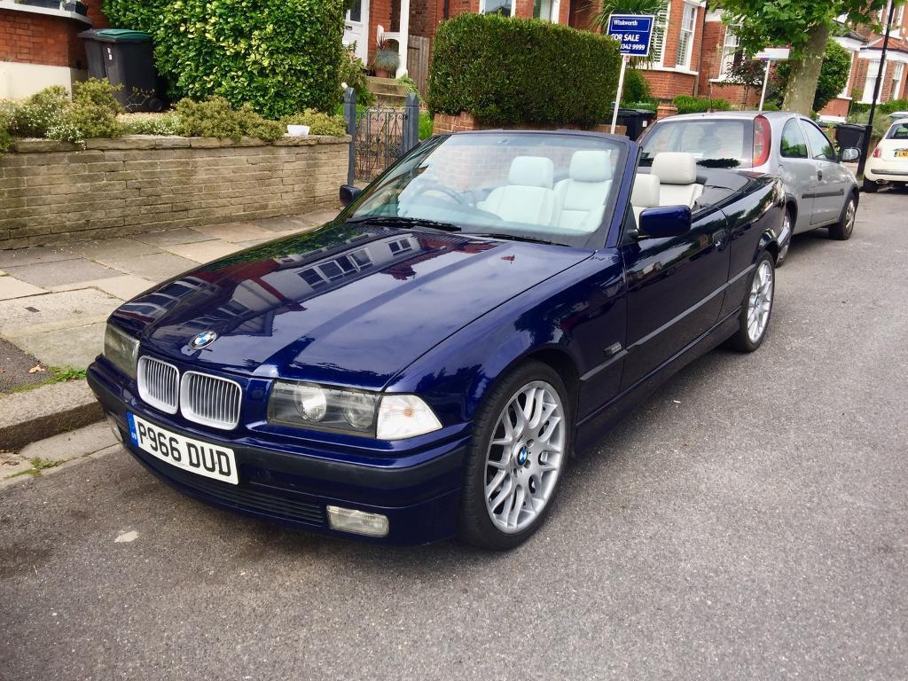 bmw e36 325i 3 series convertible blue in crouch end. Black Bedroom Furniture Sets. Home Design Ideas