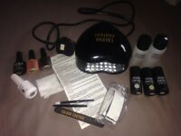 Gel kit (Colour couture) with extra gel varnishes