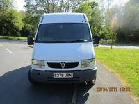 Vauxhall Movano medium length high top van