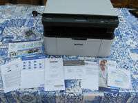 Brother DCP 1610W Mono Laser Printer, three-in-one, almost new!