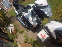 Repairable sym wolf starter bike