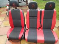 mercedes sprinter driver seat and passangers