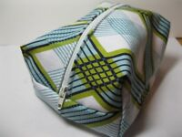 Learn to sew a lined Cosmetic Bag plus to sew in a normal and invisible zip.
