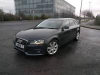 Blue 2012 model Audi A4 Avant 2.0 TDIe diesel,£30 tax a year satnav/stop start