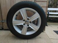 VW Golf Alloys, complete with tyres