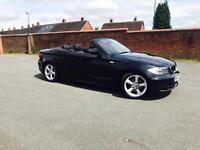 BMW 1SERIES 120d CONVERTIBLE FSH LOW MILAGE WARRANTY