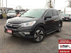 2015 Honda CR-V TOURING**LEATHER**SUNROOF**NAVIGATION**