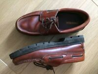 Mens Brown 'Oxford' style shoes