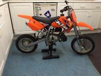 Ktm50 Rev n go kids dirt bike SENIOR ADVENTURE