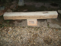 Oak beam Lintel Feature fireplace or Mantle Floating