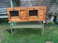Rabbit or guinea pig hutches