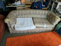 Beautiful shabby chic sofa
