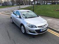 14 PLATE VAUXHALL ASTRA 1.6 ELITE AUTO ONLY 18K MILES SILVER 5 DOOR NOT GOLF FOCUS CORSA POLO FIESTA