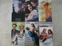 Romance 6 Pack of VHS Movies in Warman or Silverspring