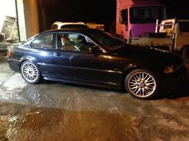 Bmw 325i E46 M SPORT manual BREAKING mv1 manual