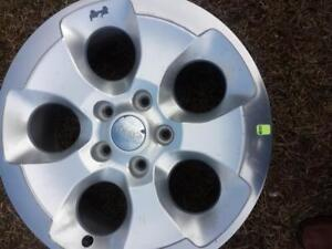 BRAND NEW TAKE OFF JEEP WRANGLER SAHARA  FACTORY OEM  18 INCH WHEEL  WITH SENSOR.
