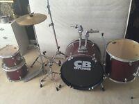 CB 5piece drum kit