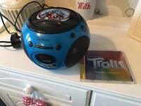Marvel/avengers boom box ,CD player