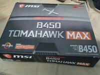 AMD Hexa Core 4.2 Ghz Ryzen 5 3600, MSI B450 TOMAHAWK MAX Motherboard Bundle