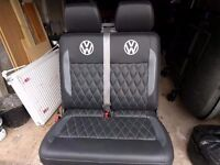 VW transporter T5 front bench seat