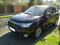 CONGESTION CHARGE EXEMPT MITSUBISHI OUTLANDER SUV AVAILABLE FOR HIRE - FREE INSURANCE !!!!!!!!!!!!!!
