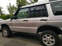 Land Rover Discovery Td5 for sale.