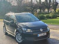 2012 Volkswagen Touran 1.6 TDI SE 7 Seater 140 BHP Full Service History 2 Keys! Not Ford Seat Audi