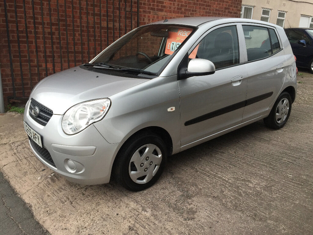 KIA Picanto 1 - 1.0 5dr - 2009, 12 MONTHS MOT, 2 KEYS, 1 LADY OWNER, SERVICE HISTORY, £1695