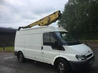 Ford transit versalift eurotel 36nf