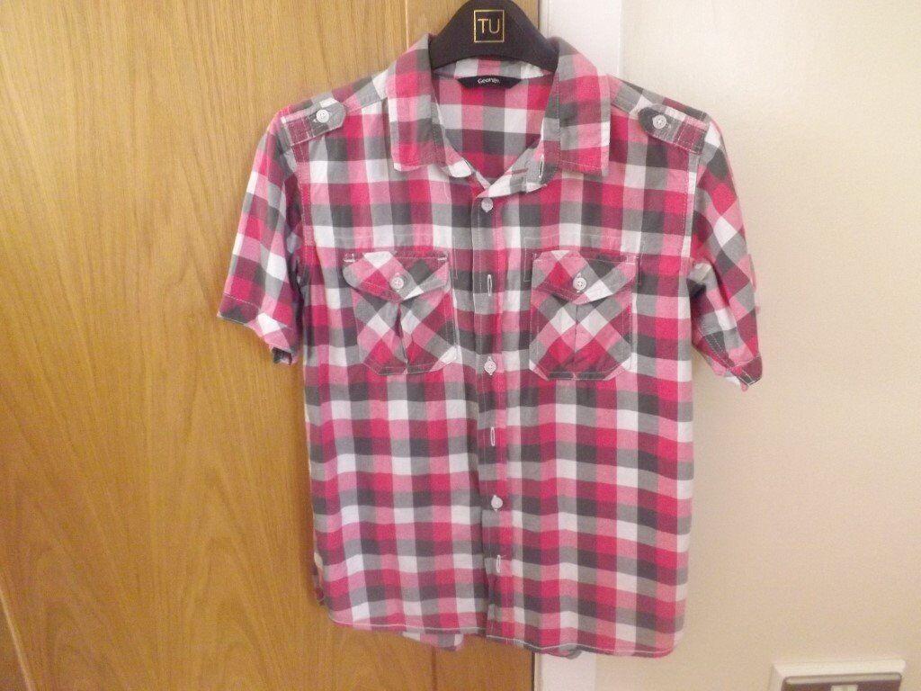 Boys Shirt Age 11-12