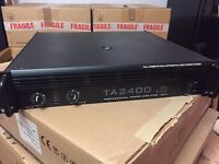 Thomann TA2400 power amp brand new in box t.amp soundsystem amplifier perfect condition