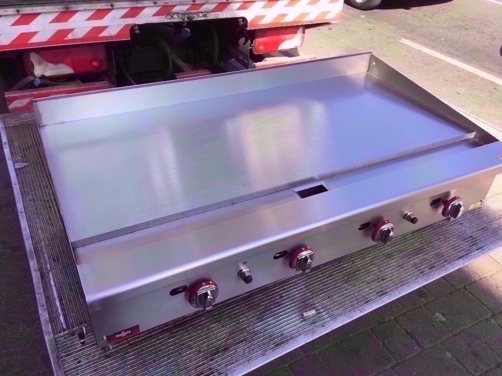 120CM FLAT COMMERCIAL MEAT BBQ GRILL FASTFOOD MACHINE CATERING TAKEAWAY SHOP OUTDOORS RESTAURANT