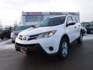 2013 Toyota RAV4 LE AWD / Remote Starter Included