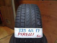 matching set 225 45 17 PIRELLIS 6-7mm TREAD £70 PAIR SUP & FITD £120 SET OF 4(LOADS MORE AV 7-DAYS)