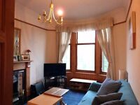 Attractive 1-bedroomed traditional West End flat on Dumbarton Road, Thornwood