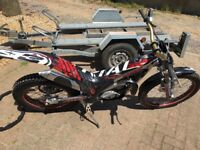 Gas Gas TXT Pro 280 2004 registered + ERDE 2 bike Trailer
