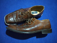 Louis Copeland handmade leather gents formal size 8.5 shoes