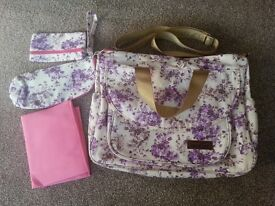 Baby changing bag - brand new