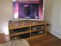 TV / Media Unit IKEA cabinet stand DVD wood 4 sections