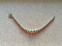 Argento Sterling Silver Ball Bracelet