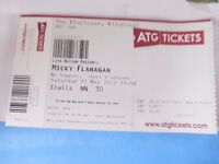 Micky Flanagan ticket (single) - Edinburgh Playhouse - Saturday May 27th