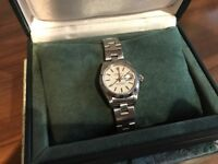 Rolex lady oyster perpetual watch with date