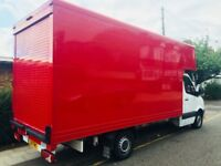 2011 Mercedes Benz Sprinter 313 Extended Luton Box Van 80k F/S/H like VW Crafter NO Tail Lift