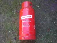 GAS BOTTLE empty for making woodburner stove