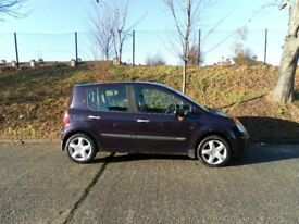 RENAULT MODUS DIESEL 1.5 2005/55 ONLY £30 ROAD TAX!! MOT 10 NOVEMBER 2018!! DRIVES GREAT!! BARGAIN!!