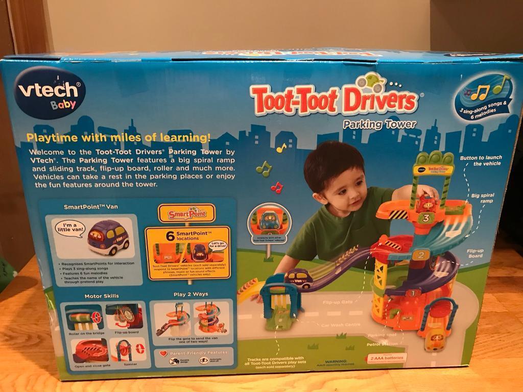 vtech Toot Toot Drivers Parking Tower BNIB