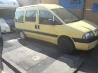 Peugeout expert 9 seater 07 reg spares or repairs