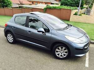 2008 Peugeot 207 Auto Sports Sunroof Only 83000Km Logbooks 2 Keys Sutherland Sutherland Area Preview